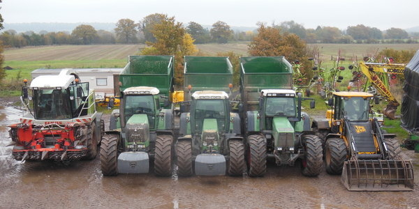 Maize Harvesting Team Line Up